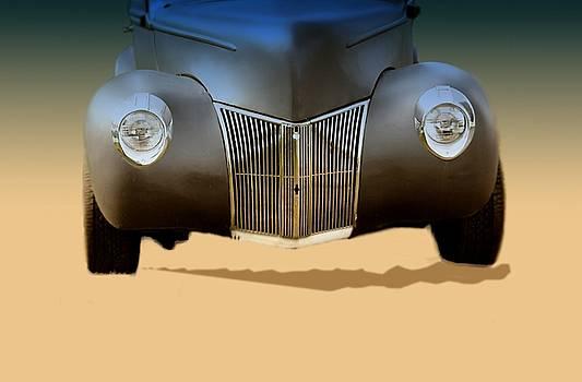 Drag Racing Anyone by Myrna Migala