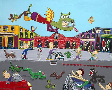Dragon Man by Paul Fields