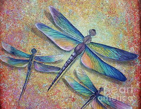 Dragonflies  by Gabriela Valencia