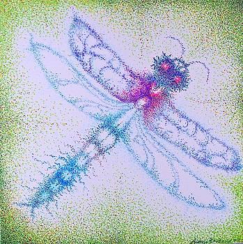 Dragonfly  Higher Spirt  by Andrew Zeutzius