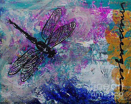 Dragonfly Messenger by Noelle Rollins
