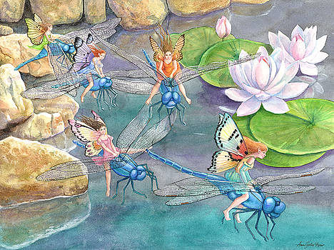 Dragonfly Races by Ann Gates Fiser
