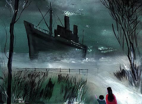 Dream Boat by Anil Nene