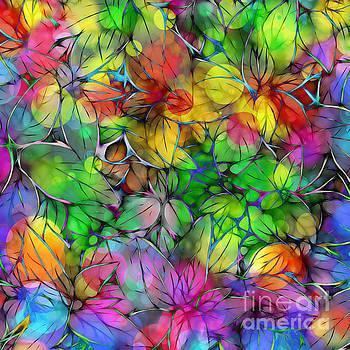Dream Colored Leaves by Klara Acel
