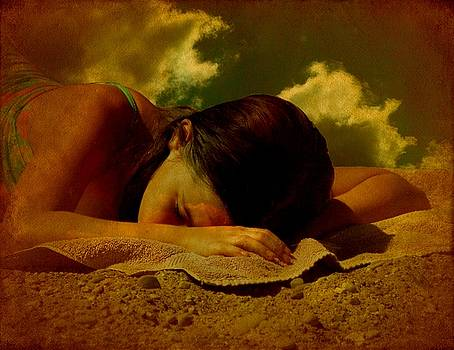 Dreaming At The Beach by Tanya Keefe