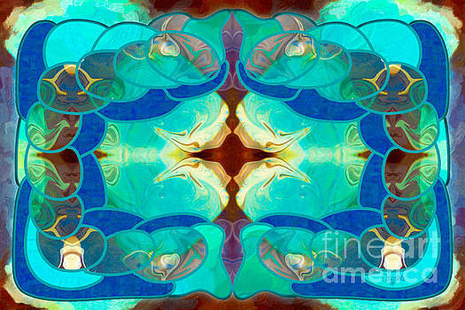 Dreaming Desires Abstract Digital Magic by Omashte by Omaste Witkowski