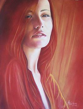 Dreaming Girl by Anastasis  Anastasi