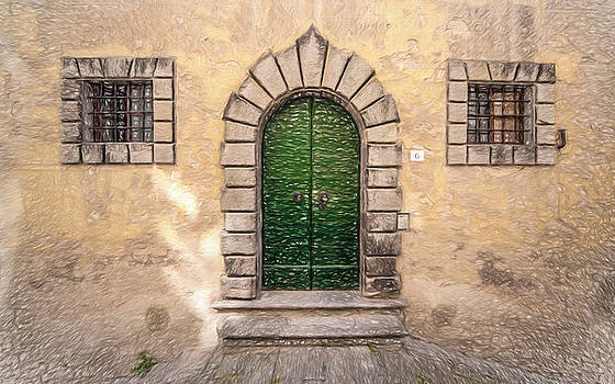 Dreaming of Cortona by David Letts