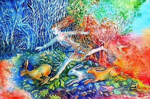 Dreaming with Hares by Trudi Doyle