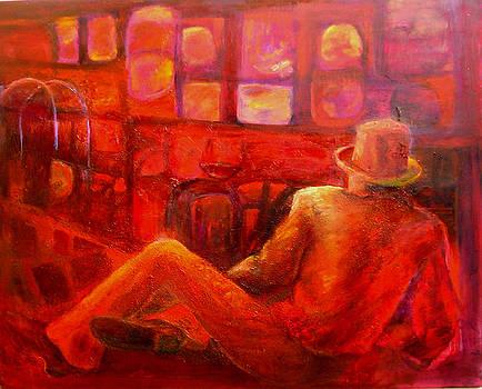 Dreams in red by Sylva Zalmanson