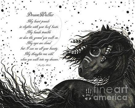DreamWalker Horse Poem #53 by AmyLyn Bihrle