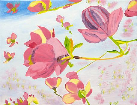 Dreamy Magnolias by Meryl Goudey