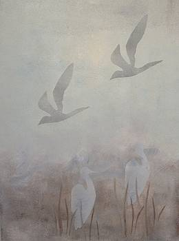Drifting Birds and Cranes by Kathrine Fisker