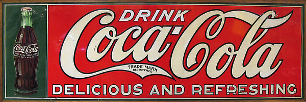 Drink Coca Cola by Dave Mills
