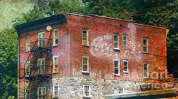 Drink Coca Cola Ghost Sign by Beth Ferris Sale