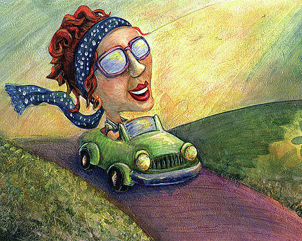 Driving Through My Greener Pastures by Rachel Cotton