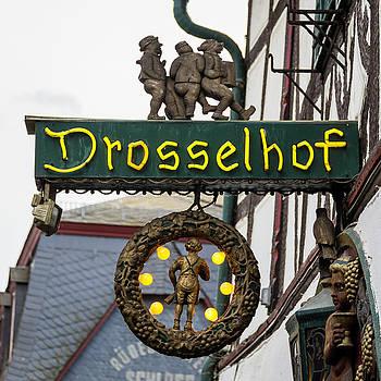 Drosselhof Neon Sign by Teresa Mucha