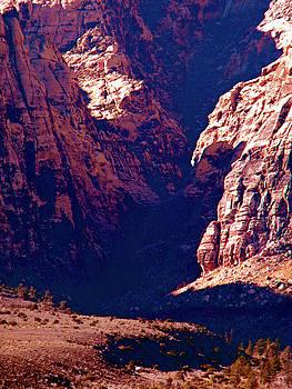 Frank Wilson - Dry Desert Waterfall