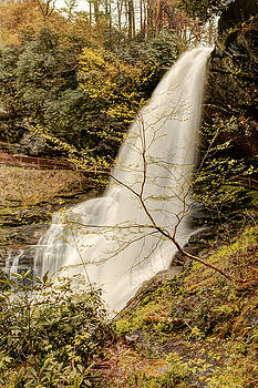 Dry Falls in North Carolina by Penny Lisowski