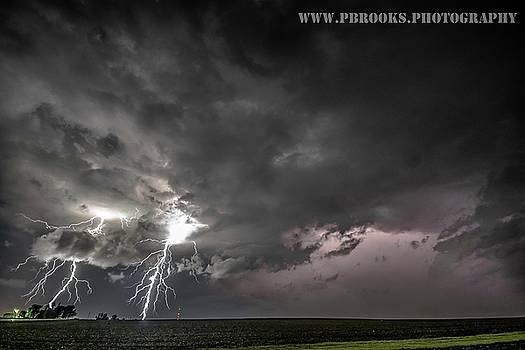 Dual Strikes, Wilton, Iowa by Paul Brooks