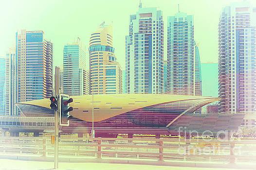 Dubai Metro Station by Carsten Reisinger