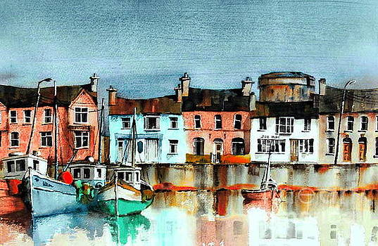 DUBLIN ... SKERRIES Harbour by Val Byrne