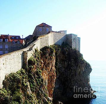 Dubrovnik City Walls by Jasna Dragun
