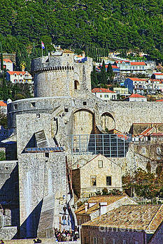 Dubrovnik City Walls - Minceta by Jasna Dragun