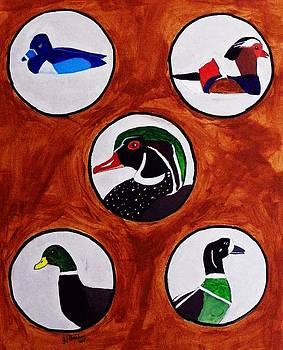 Ducks by Joseph Frank Baraba