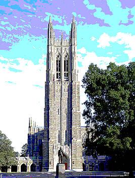 Duke University by Charles Shoup
