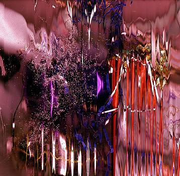 Duke's Mixture Abstract by Anne-elizabeth Whiteway