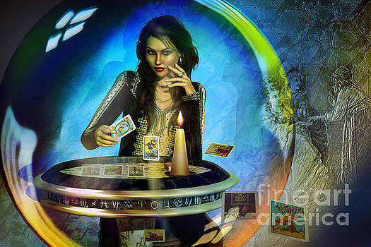 DUKKERIN' ... fortune teller by Shadowlea Is