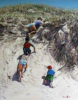 Dune Climb by Amanda Russian
