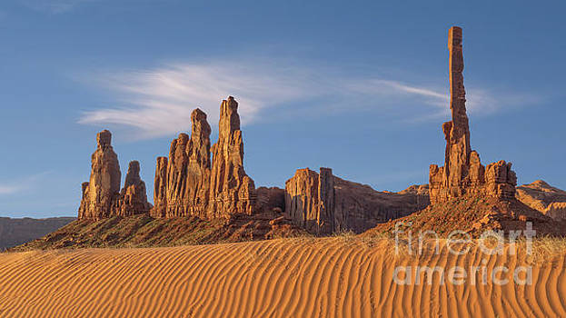 Dunes and Totem Poles by Jerry Fornarotto