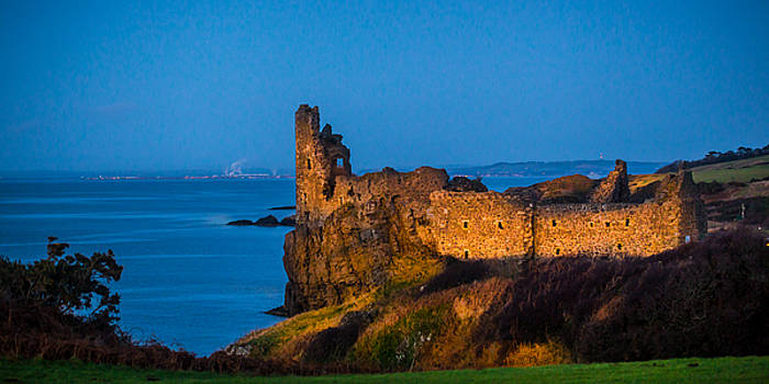 Dunure Castle Scotland by Tylie Duff