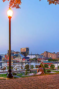 Dusk At Federal Hill by Brian Wallace