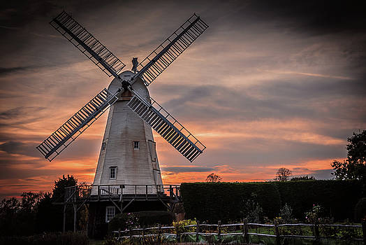 Dusk at the Mill by Jeremy Sage