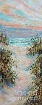 Dusk Pathway by Linda Olsen