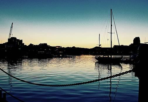 Dusk Pier by Brian Sereda