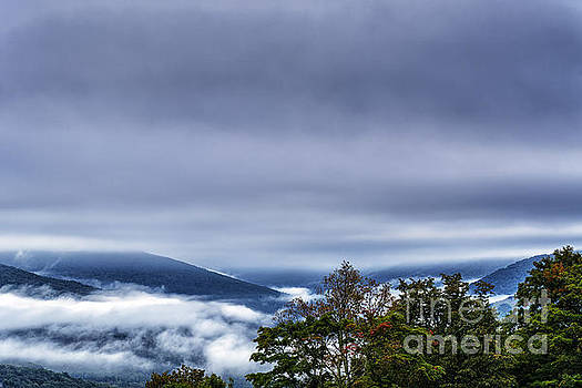 Dusky Sky West Virginia by Thomas R Fletcher