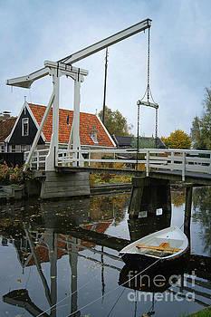 Dutch Canal Bridge by David Birchall