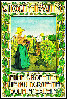 Dutch Canned Foods Ad 1899 by Padre Art