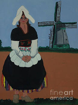 Dutch girl by Kate Farrant