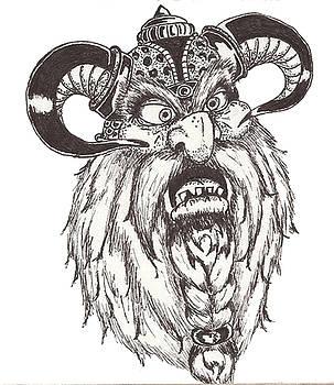 Dwarf Berserker by Law Stinson
