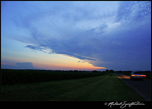 Dying Storm at Twilight by Melinda Swinford