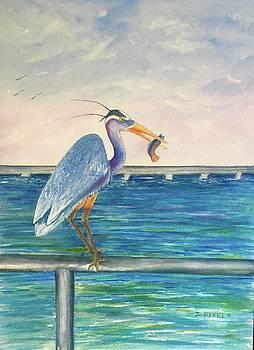 Eager Egret by Jane Ricker