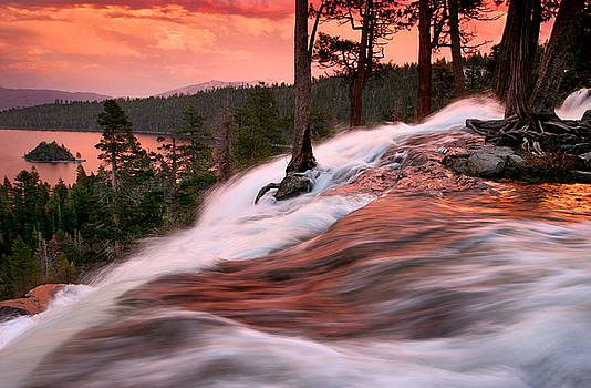 Eagle Falls Evening by Buck Forester