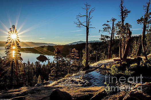 Eagle Falls Sunrise by Mitch Shindelbower