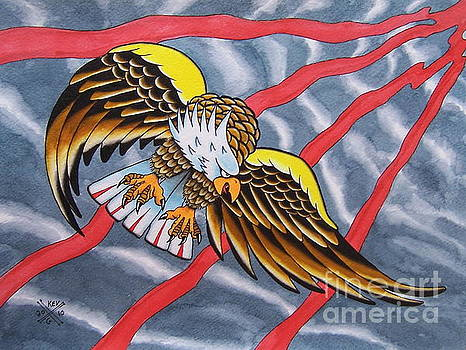 Eagle by Kevin  Guinn