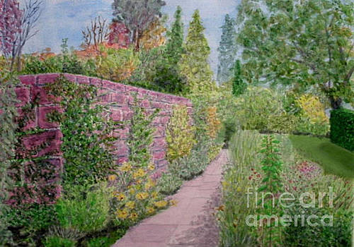 Early Autumn - Ness Gardens, Wirrral by Peter Farrow